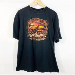 Harley Davidson Maui, Hawaii Cruisin' Tee Shirt